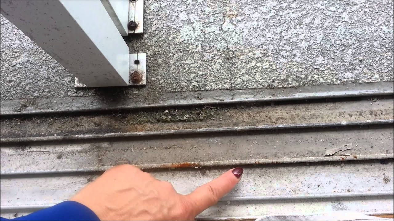 How To Clean Your Sliding Glass Door Track Youtube