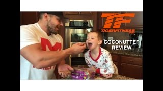 Sweet Spreads CocoNutter on Raisin Ezekiel Bread Taste Test with Thomas!