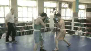 Aram Martirosyan boxing, May 2014. Round 3