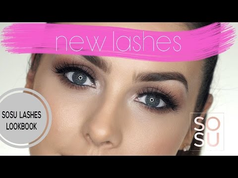 My SOSU Lashes Lookbook!