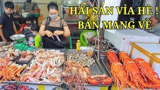 ComBo 3 Món Cua Yếm Vuông 500K/kg Siêu Ngon Bao Chế Biến Bán Mang Về Trên Vỉa Hè Sài Gòn