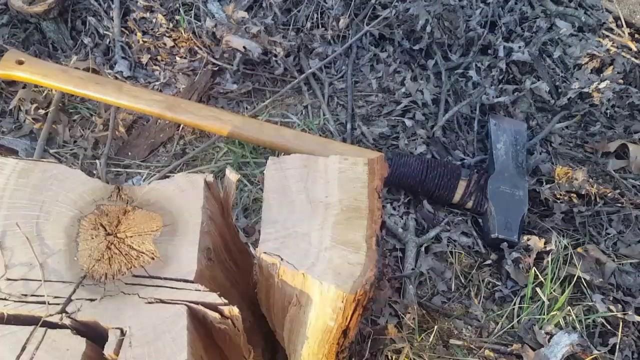 Husqvarna Large Splitting Maul Handling Knarly Oak