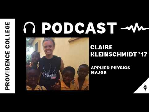 Claire Kleinschmidt '17 - Service, Science, and More