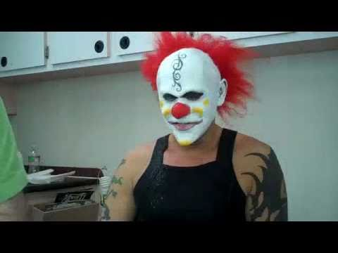 Dark Prophecy - Behind the Scenes - Clown Make Up