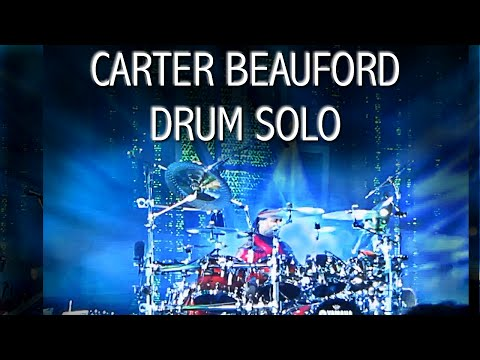 Carter Beauford Drum Solo: Drummer from the Dave Matthews Band - Awesome Fan Filmed Drum Solos