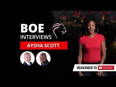 BOE008 – Aysha Scott – How To Promote A Brand With Storytell