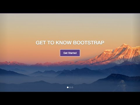 Create A Responsive Bootstrap Website From Scratch