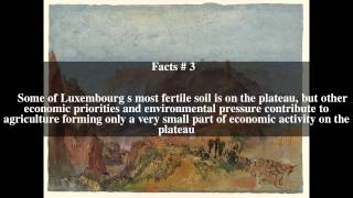 Luxembourg plateau Top # 6 Facts