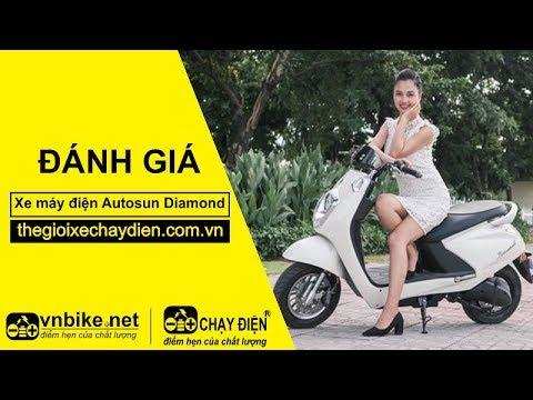 Đánh giá xe máy điện Autosun Diamond