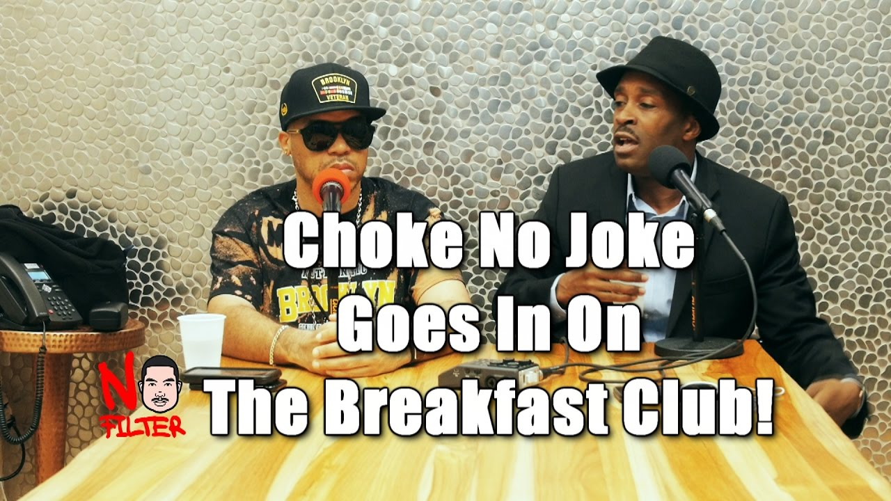 Choke No Joke Exposes Charlamagne Da God and Goes In On The Breakfast Club