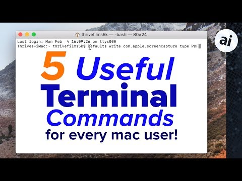5 Terminal Commands EVERY Mac User Should Know!