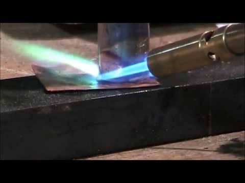 Metal Working How To Solder Copper Youtube