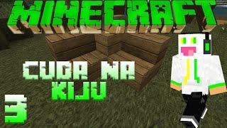 Minecraft: Cuda na Kiju #3 - NIEWIDZIALNE SCHODY?! - Pan Śmietanka