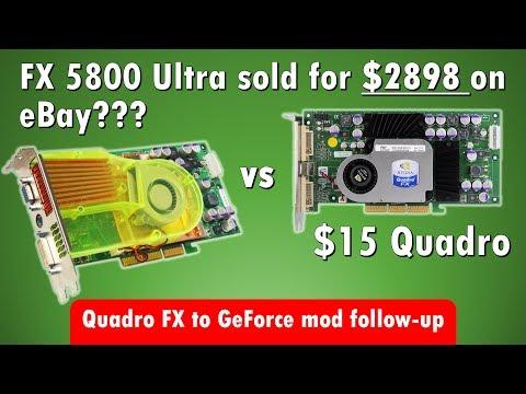Overpriced GeForce FX