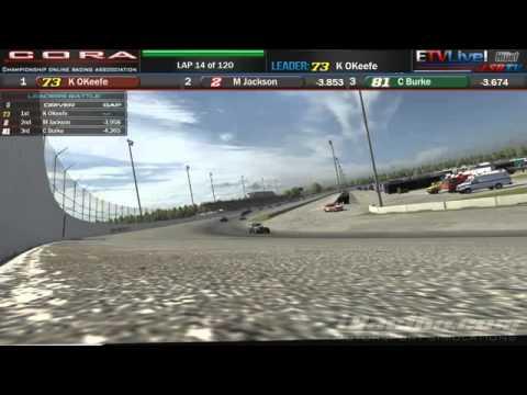 Cora Sunday Money, Race 8 at USA Speedway with ETV live/ LSRTV