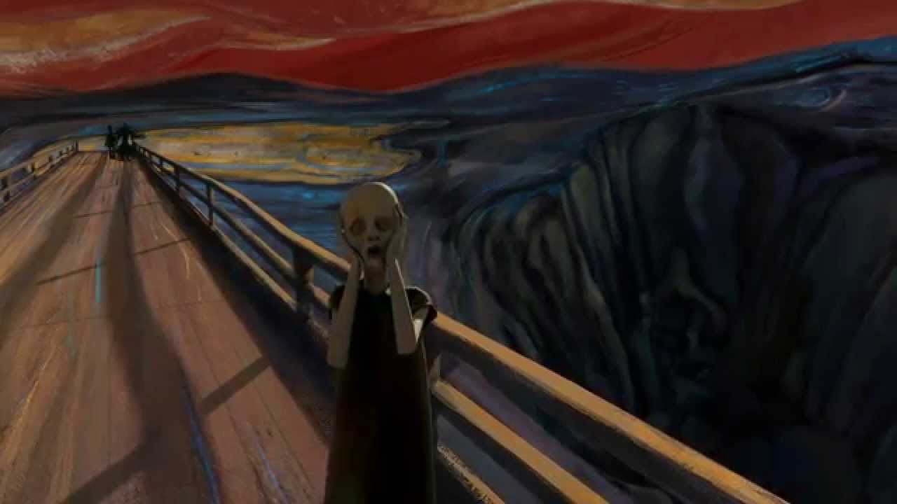 a description of the mystery of figures in the painting the scream The mystery squatter is an unknown resident at the james farm description a mystery hoodied figure that was first seen by emma at a trailer near the troy james barn.