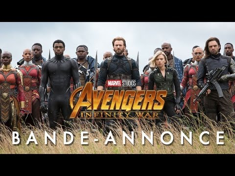 avengers infinity war bande annonce officielle vf youtube. Black Bedroom Furniture Sets. Home Design Ideas
