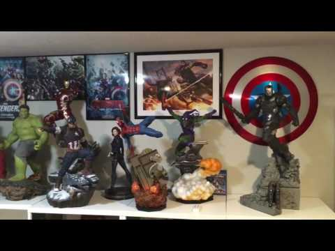Iron Studios War Machine 1:4 statue unboxing and review