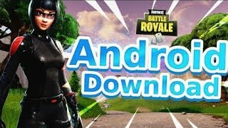 FORTNITE ANDROID DOWNLOAD REGISTRATION!!!! | PLEASE REGISTER NOW