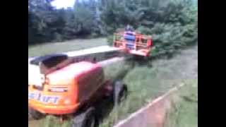 dumbass flips a 60ft boom lift