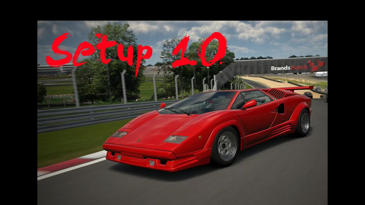 maxresdefault Wonderful Lamborghini Countach 25th Anniversary '88 Gt5 Cars Trend