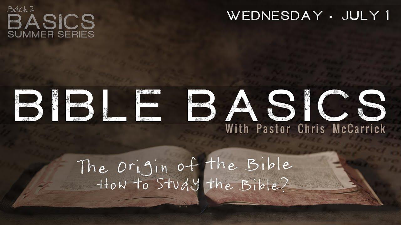 Back to Basics Berean Bible Study - Home | Facebook