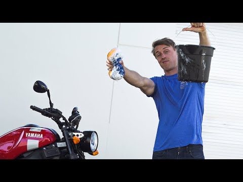 The Right Way To Wash Your Motorcycle | MC Garage