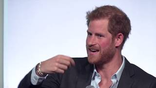 Obama Foundation Summit | Conversation with Prince Harry