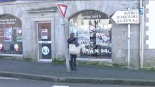 La ville du Faouët s'est réveillé avec de nombreux tags qui interpellent