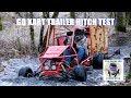 Go Kart Trailer Hitch TEST