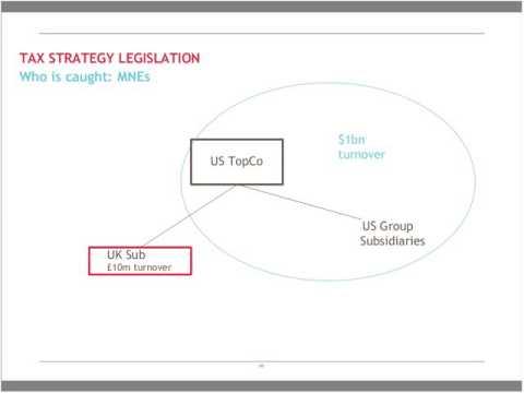 BDO Tax Webinar - Documenting your tax strategy