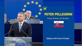 Debating the Future of Europe with Peter Pellegrini