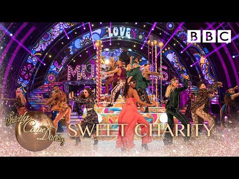 Strictly pro-dancers perform to Rhythm of Life from Sweet Charity - BBC Strictly 2018