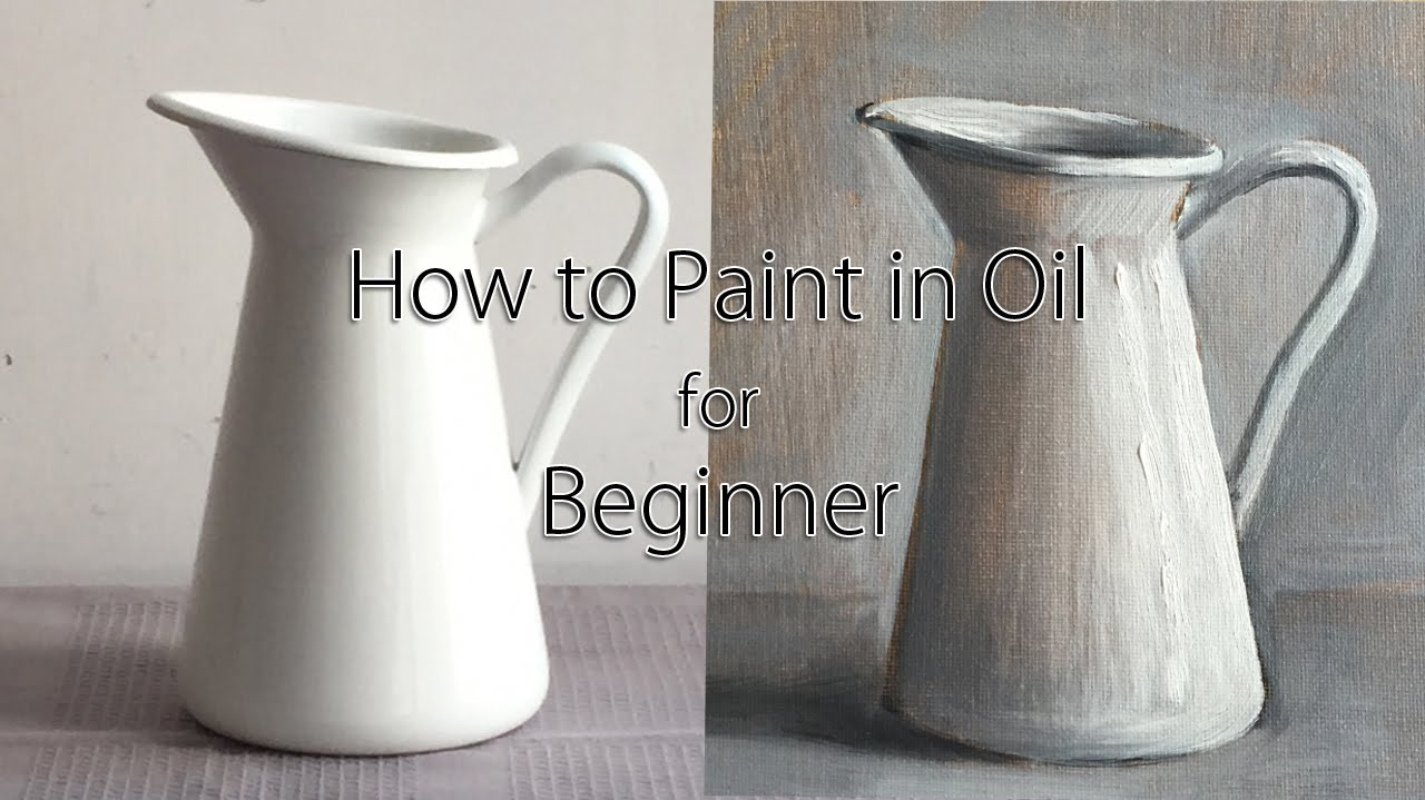 Full step by step oil painting tutorial for beginner how for How to start an oil painting for beginners