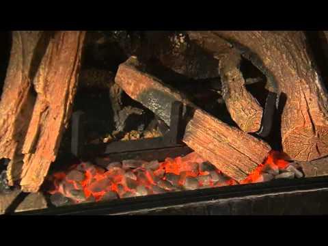 Heat Glo 6000clx Gas Fireplace Video Youtube