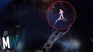 Schockierende Momente im Zirkus - aufgenommen auf Kamera