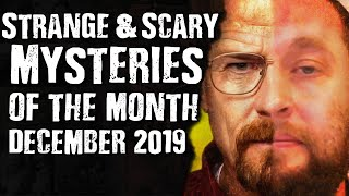 Gambar cover Strange & Scary Mysteries of the Month December 2019