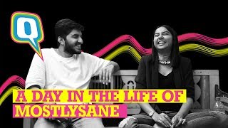Offline With an Internet Star: A Day in the Life of MostlySane aka Prajakta Koli | Quint Neon