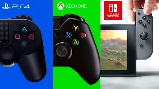 Nintendo Switch Reveal Opinion | Sucker Punch New IP | PS4 Wins December NPD