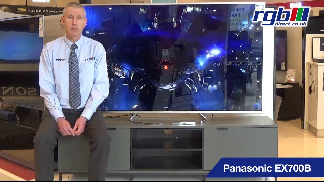 PANASONIC EX700B, TX40EX700B, TX50EX700B, TX58EX700B, TX65EX700B