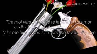 Rohff feat Indila - Thug Mariage paroles مترجمه للعربيه translated to english lyrics