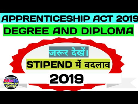 CIL||APPRENTICESHIP ACT 2019||COAL INDIA LIMITED||MINING VIDEOS||PDPT &PGPT||STIPEND FOR APPLICANTS