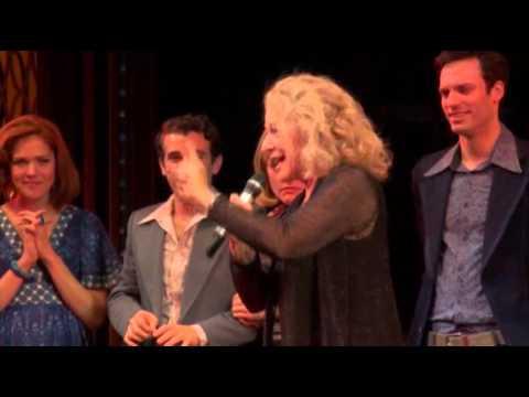 Carole King Walks on  'Beautiful' Broadway Stage