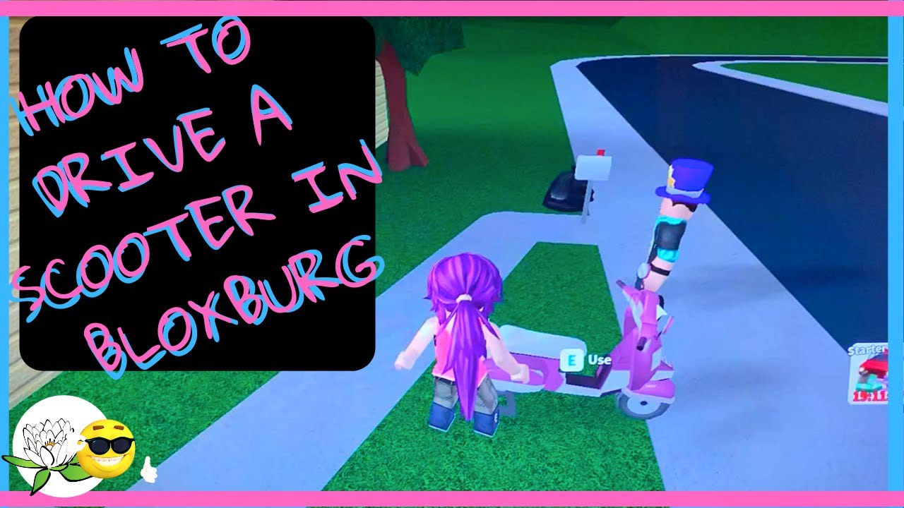 How To Drive A Scooter In Bloxburg And How To End A Activity