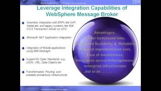 Building an Enterprise Integration Bus using Websphere Message Broker v8.0.0.1 -  An Industry sample