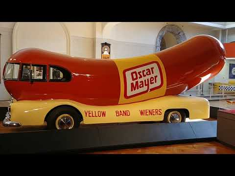 Oscar Mayer Wienermobile at the Henry Ford Museum