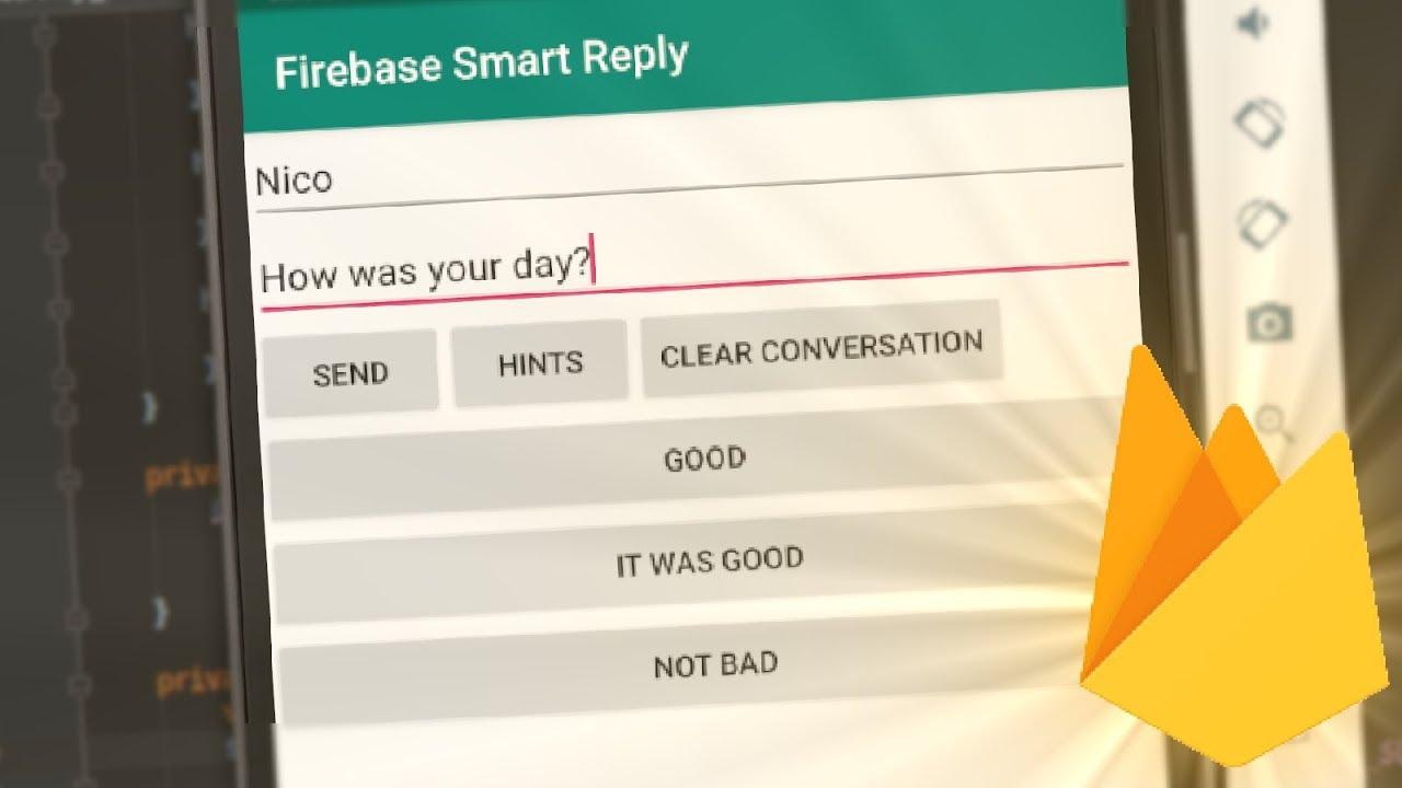 How to use Firebase ML Kit, Smart Reply on Android