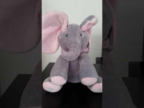 Hide-and-Seek Singing Elephant Plush Toy