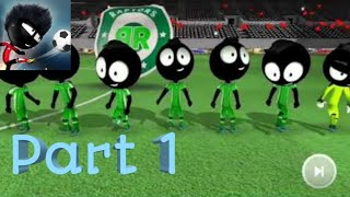 STICKMAN SOCCER 2018 - Gameplay Part 1 (Android)