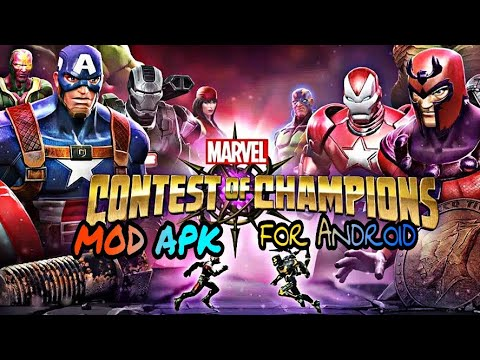 marvel contest of champions mod apk unlimited units download 18.0.1